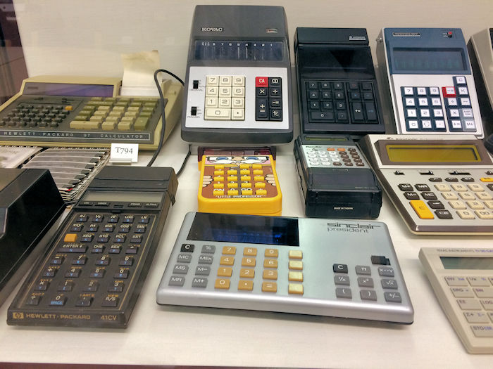 Old Calculators