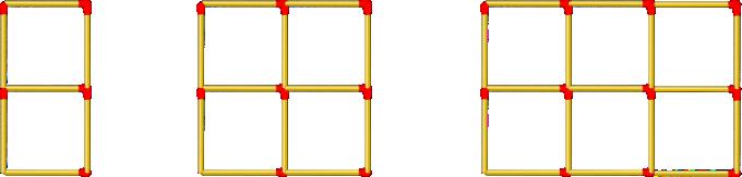 Matchstick_Patterns on Algebra Problems