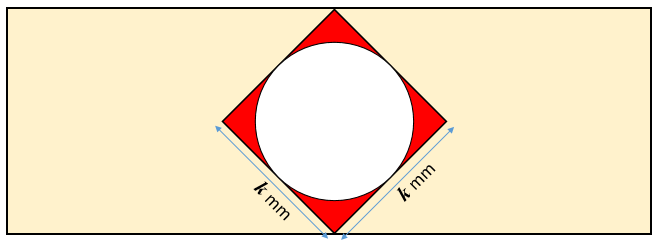Circle in Square Diagram