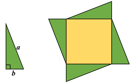 Triangled Square