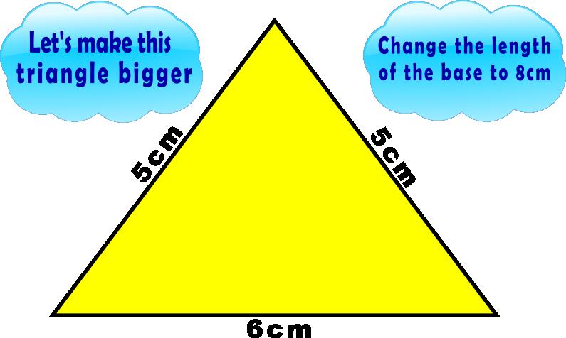 Bizarre Triangle