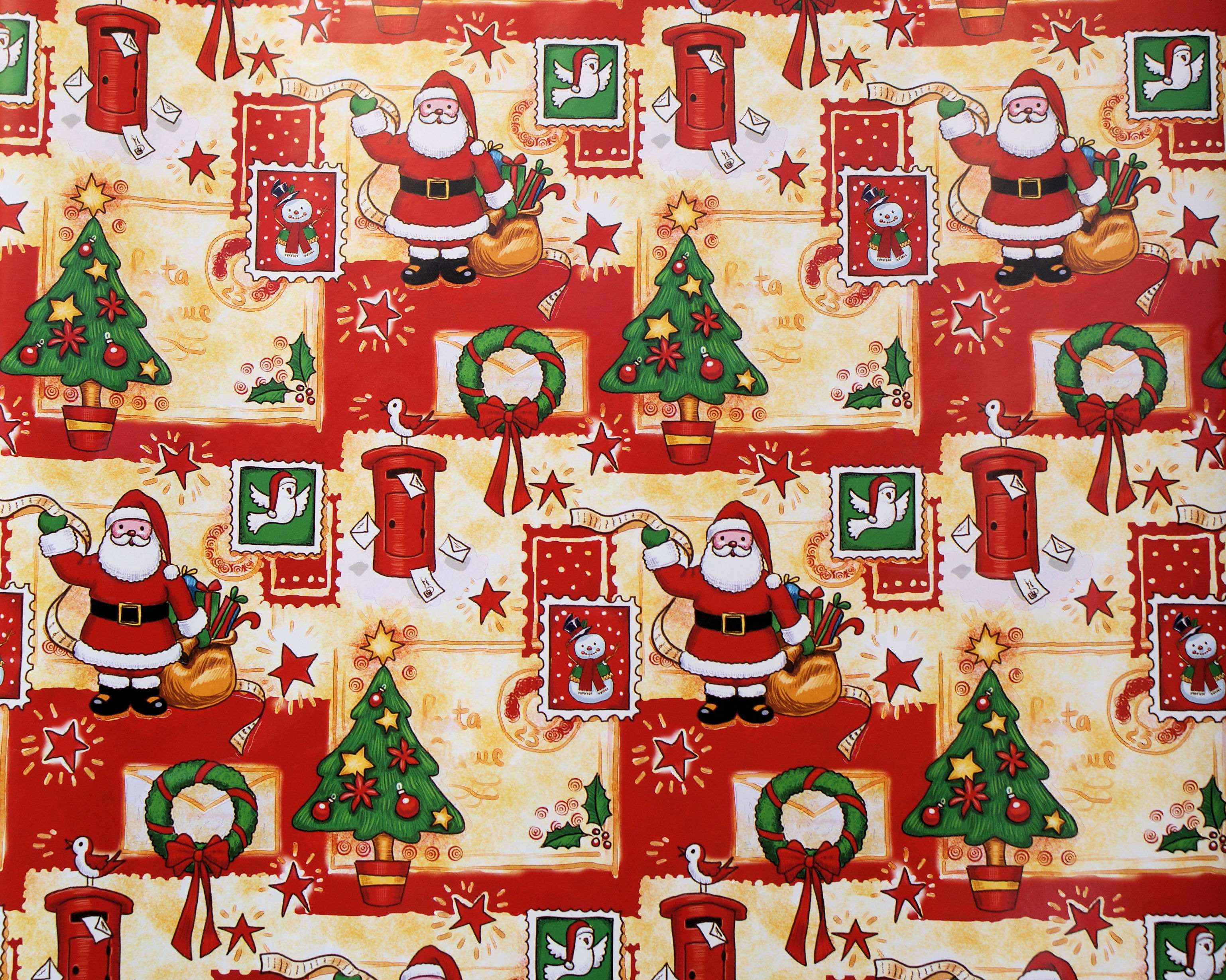 Christmas Gift Wrapper Design.Wrapping Paper