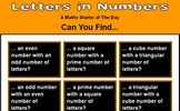 Letters in a Number