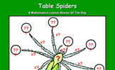 Table Spiders