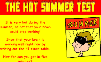 Hot Summer Test