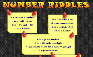 Maths Riddles