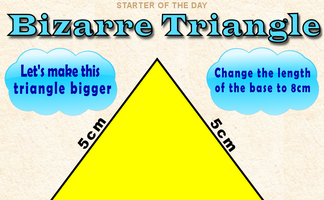 Bizarre Triangle