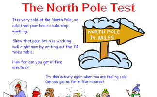 North Pole Test
