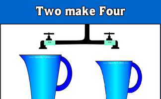 Two Pots Make Four
