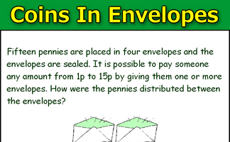 Coins in Envelopes