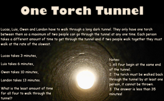 One Torch Tunnel
