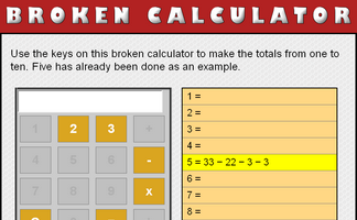 Broken Calculator (2 and 3)