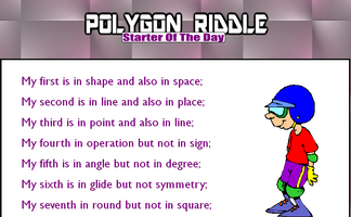 Polygon Riddle 1