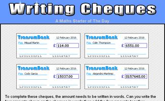 how to write four thousand pounds