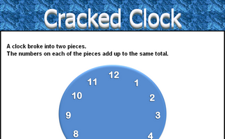 Cracked Clock