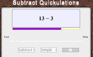 Subtract Quickulations