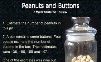 Peanuts and Buttons