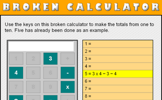 Broken Calculator (3 and 4)