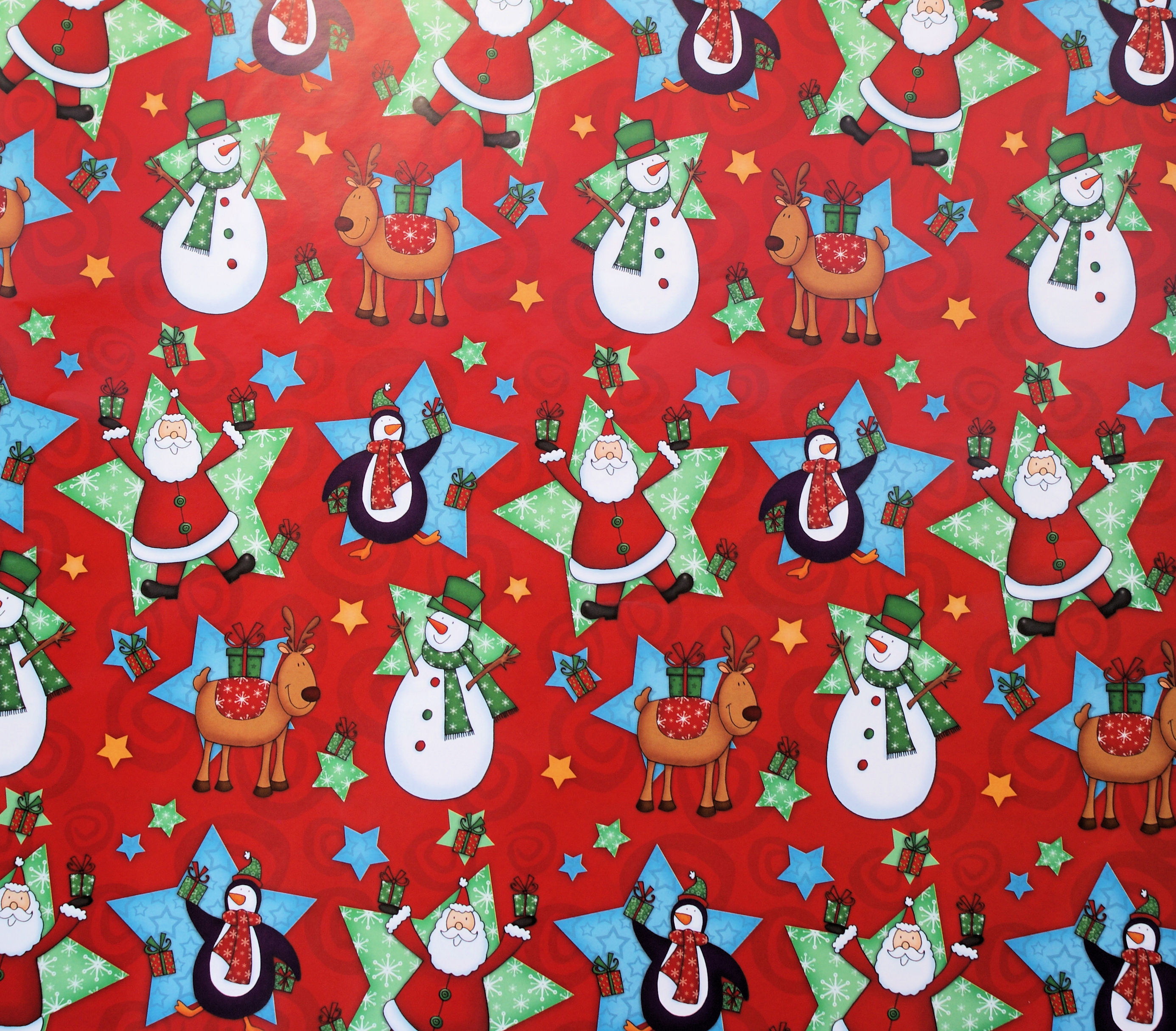 christmas wrapping paper example 4