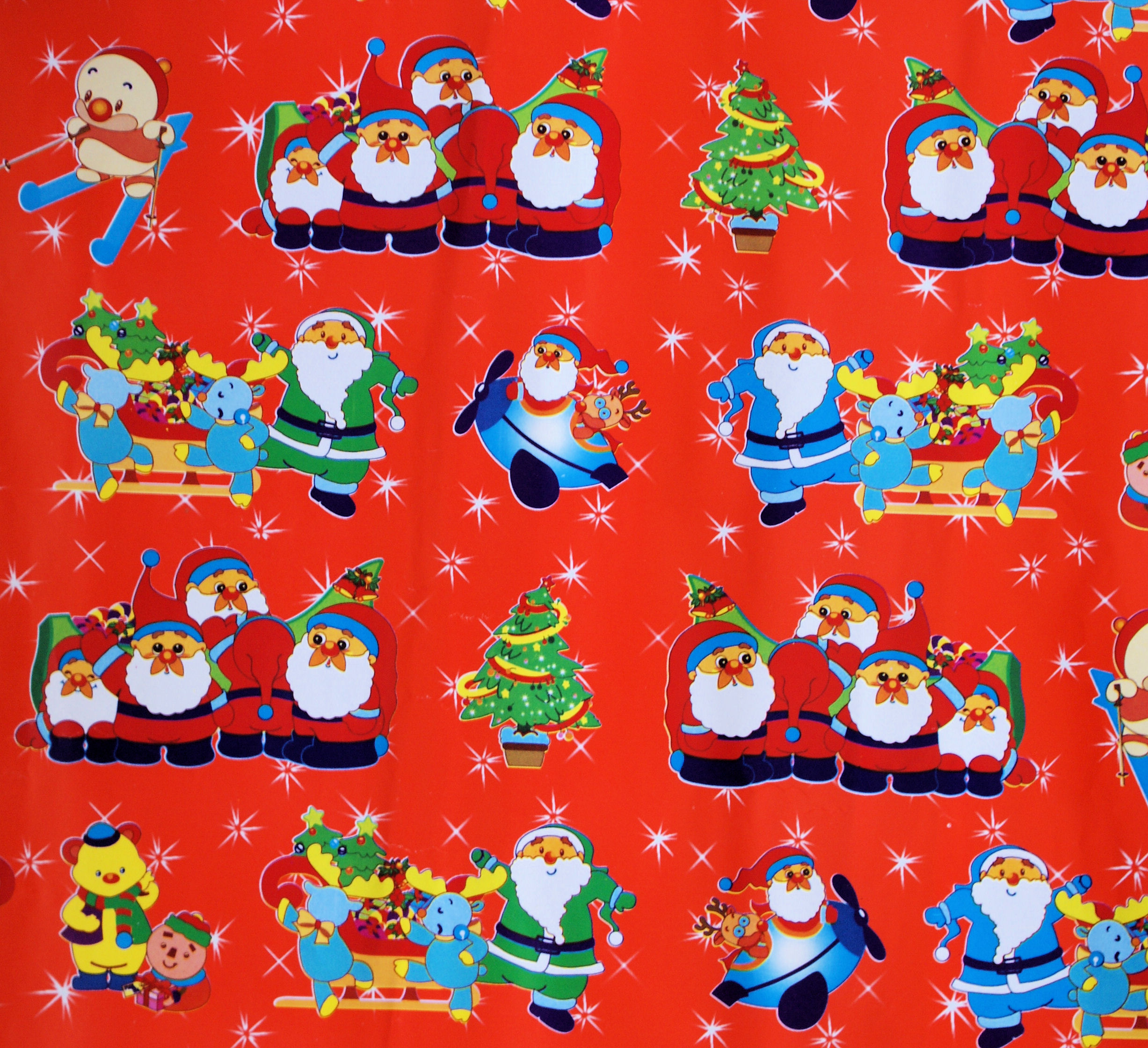 Cars  Christmas Wrapping Paper