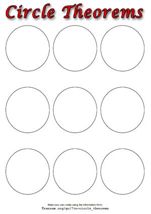 circle theorem worksheet a transum worksheet. Black Bedroom Furniture Sets. Home Design Ideas