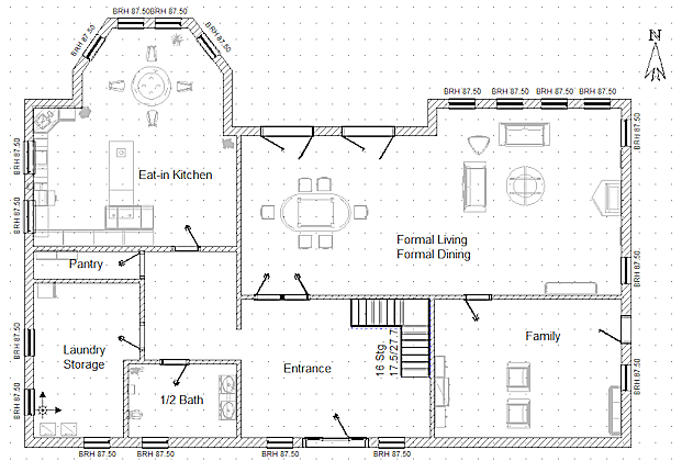 Scale drawings for Draw a floorplan to scale for free