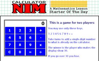 Calculator Nim