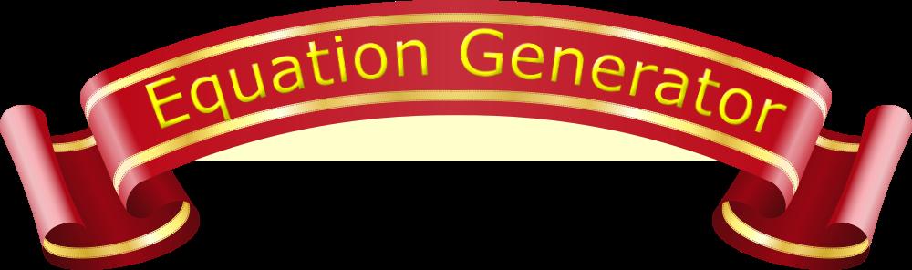 Equation Generator